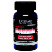 Улучшение сна Ultimate Nutrition Melatonin 100% Premium 3 mg 60 капс